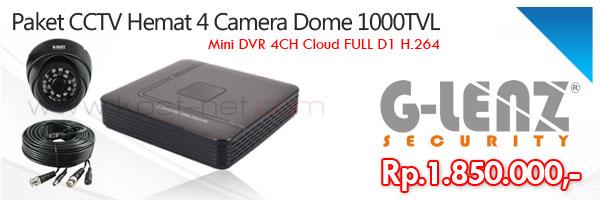 Paket CCTV Hemat 4Cam