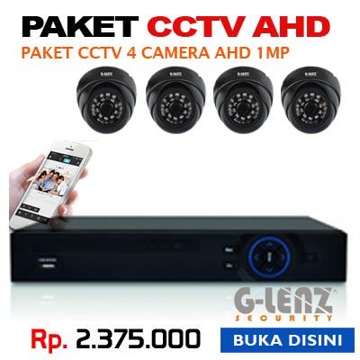 PROMO PAKET CCTV 4 AHD