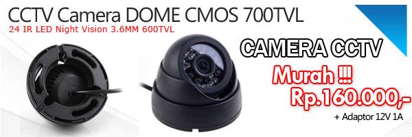 Camera Dome CMOS 600TVL